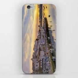 Ferragudo at sunset, Portugal iPhone Skin