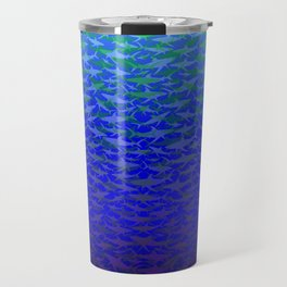 Sharks In Deep Water. Travel Mug
