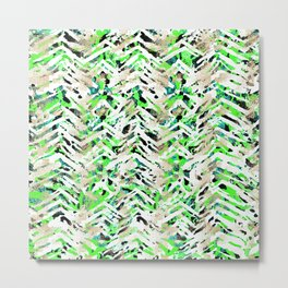 chalky skin light with green Metal Print