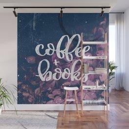 Coffee + Books Wall Mural