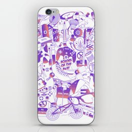 Echoes of the past iPhone Skin