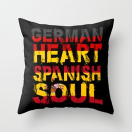 Spaniard Gift Throw Pillow