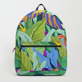 Colorful Jungle Backpack