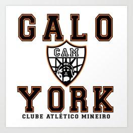 Galo York Art Print