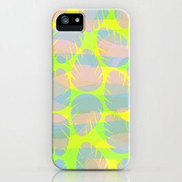 Bright leaves iPhone Case