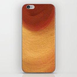 Red Sun Warm Glow iPhone Skin