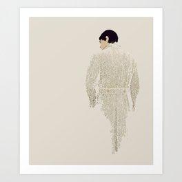 Tweed Art Print