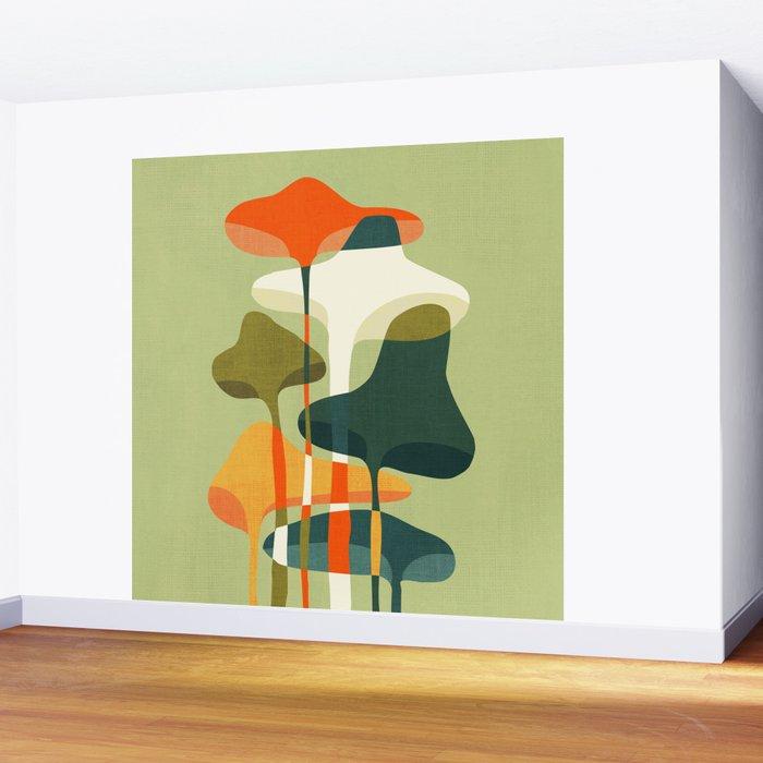 Little mushroom Wall Mural