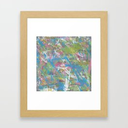 Color and Movement Abstract Art Framed Art Print