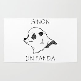 Sinon, un panda (1) Rug