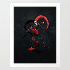 Quinn of Fools Art Print