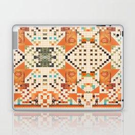 Orange poem Laptop & iPad Skin