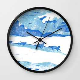 Iditarod Wall Clock