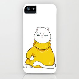 itchy sweater iPhone Case