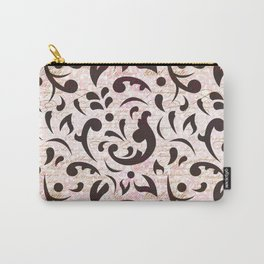 Black Swan Pattern 06 Carry-All Pouch