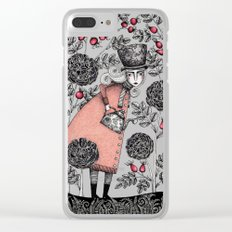 Winter Garden Clear iPhone Case