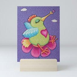 Little Love Bird, by Soozie Wray Mini Art Print