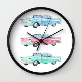 Pick your new car Wall Clock