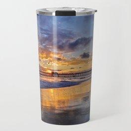 Huntington Beach Sunsets  9/14/15 Travel Mug