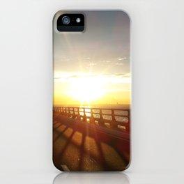 The Lake Maracaibo Bridge - I iPhone Case
