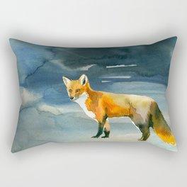 Winter forest 3 Rectangular Pillow