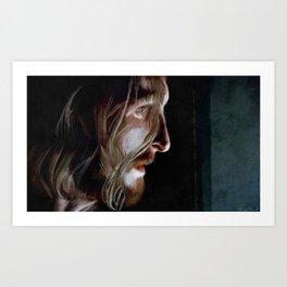 Dwight - The Walking Dead Art Print