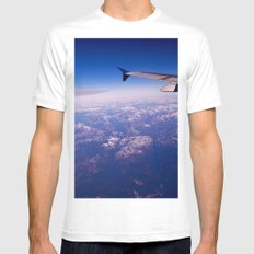My Wing Tip MEDIUM Mens Fitted Tee White