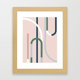 The Introduction Series #08 Framed Art Print