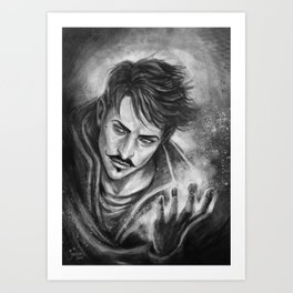 Dorian Pavus magic Art Print
