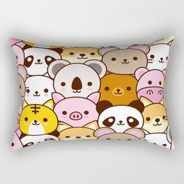 Cute baby animals  Rectangular Pillow