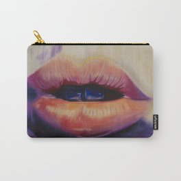 Les Lips Carry-All Pouch