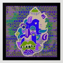 SIZZURP Art Print