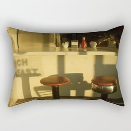 lunch breakfast Rectangular Pillow