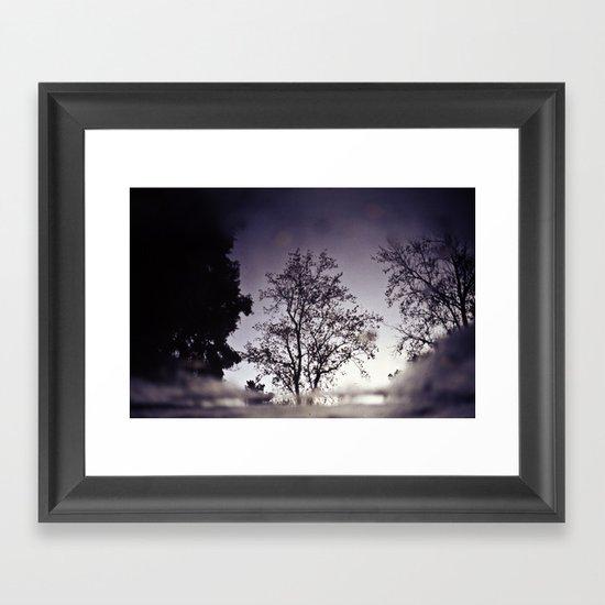 Puddletree Framed Art Print