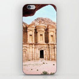 Monestary at Petra iPhone Skin