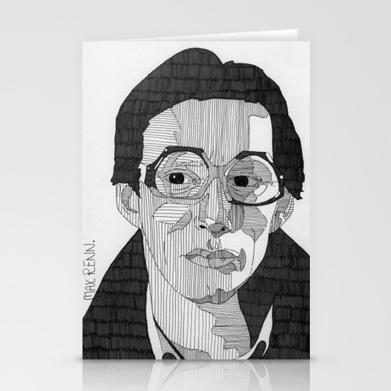Max Renn. Stationery Cards