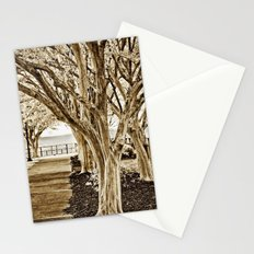 Trees along the Waterside Stationery Cards
