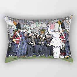 And now taking the field... Rectangular Pillow