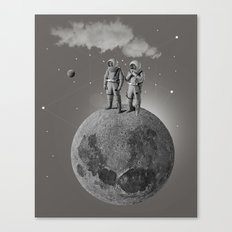 Space Race Canvas Print
