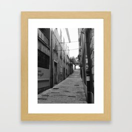 Mediterranean Places Framed Art Print