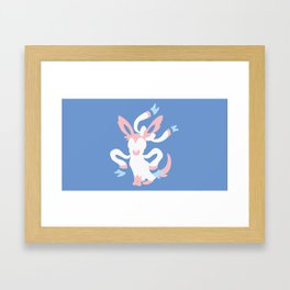 Sylveon Framed Art Print