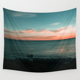 North Beach Sunsets Wall Tapestry