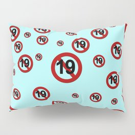 K-Poppin: Rated 19 Pillow Sham