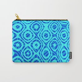 Mixed Polyps Blue - Coral Reef Series 036 Carry-All Pouch