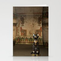 egypt Stationery Cards featuring Egypt temple  by nicky2342