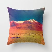 saturn Throw Pillows featuring Saturn. by Daniel Montero