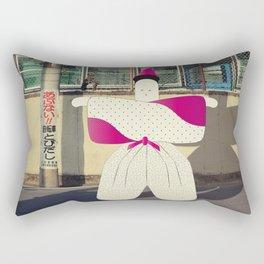 postcard from japan: kyoto#1 Rectangular Pillow