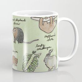 The Obscure Animal Alphabet Coffee Mug