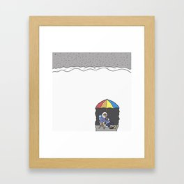 Embrace Winter Framed Art Print