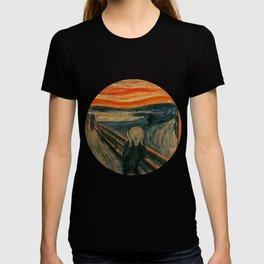 The Scream by Edvard Munch, circa 1893 T-shirt